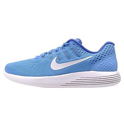 Nike Women's Lunarglide 8 Running Shoes (5 B(M) US, Blue Glow/White/RCR Blue/Hypr Turq)