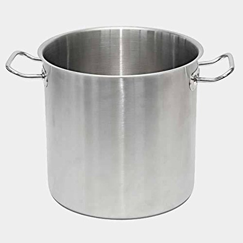 De Buyer Professional 50 cm Primary Cookware Stainless Steel Stockpot with Two Handles 3478.50
