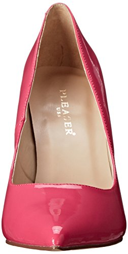 Toe Pleaser Closed 20 Pink Pink H Women's Classique Pat Pumps w464pWrIq