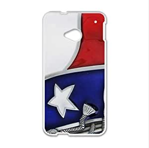 Best Custom Case ,Texas State Flag HTC One M7 (Laser Technology) Case, Cell Phone Cover