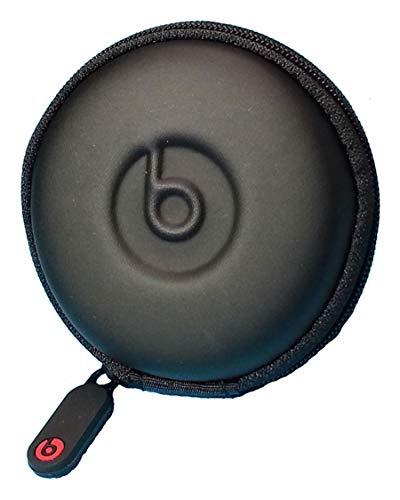 Monster Beats in-Ear Earphone Pocket Size Round Carrying Case Pouch for Powerbeats 3, Powerbeats 2 Powerbeats 1, UrBeats, iBeats, Tour Beats by Dr Dre Earphone Models. by: GeneralBuy.