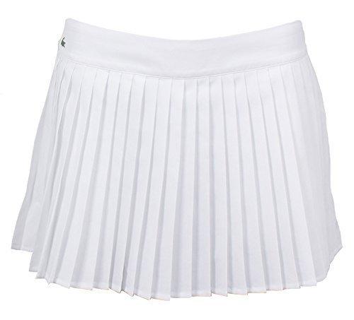 b5baafc796 Lacoste Jupe de Tennis plissée (blanc)-42: Amazon.fr: Vêtements et  accessoires