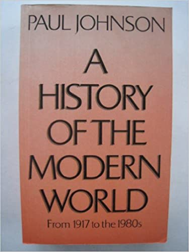 Book A History of the Modern World: From 1917 to the 1980's