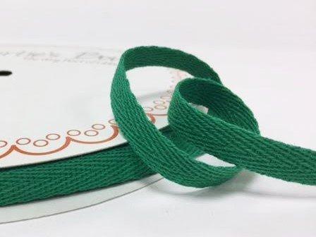 Bertie s Bows 10 mm verde algodón Herringbone cinta/banda en un 4 ...