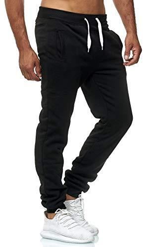Hidyliu Mens Drawstring Running Joggers Elastic Waist Sweats Pants Cuffed Bottom Workout Sweatpants with Pockets