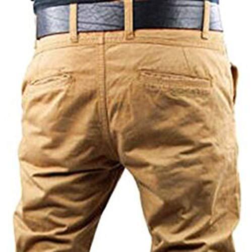A Da Lampo Colore Cerniera Lavoro Fcgv Chiusura Pantaloni Maniche Uomo Lunghe 2xl Solido Con RwqcfCt