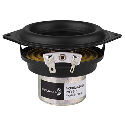 Dayton Audio ND91-8 3-1/2'' Aluminum Cone Full-Range Driver 8 Ohm by Dayton Audio