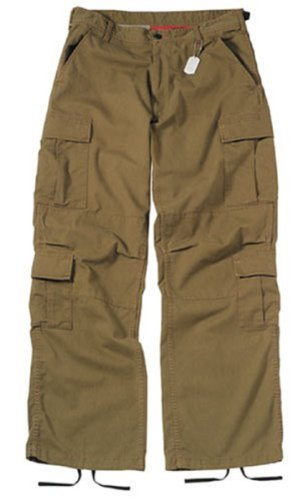 Rothco Khaki Vintage Paratrooper Fatigues (Medium)