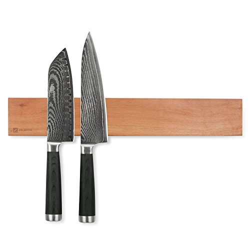 Zelancio ZEL-MKH-CHRY Magnetic Knife, 1 Strip, Cherry (Wood Cherry Display Strip)