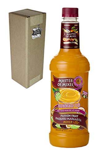 - Master of Mixes Passion Fruit Drink Mix, Ready To Use, 1 Liter Bottle (33.8 Fl Oz), Individually Boxed