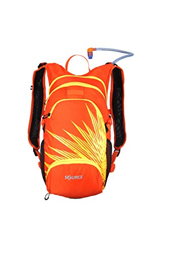 Camelback Hydration Systems (Source Outdoor Fuse 3L Hydration System / 12L Cargo Pack, Orange/Yellow)