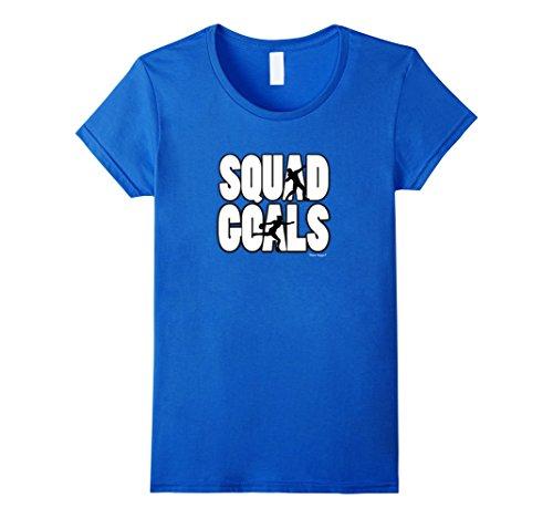 Women's Squad Goals- Shot Put and Discus T-Shirt Medium R...