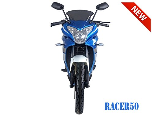 SmartDealsNow 49cc Sports Bike Racer50 Automatic Bike Racer 50 Motorcycle by TAO (Image #3)