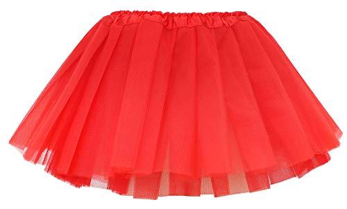 Red Tutu Child - Simplicity Little Girl Dressup Fairy Costume