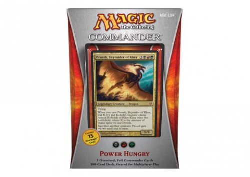 Magic the Gathering - Commander 2013 - Power Hungry Deck