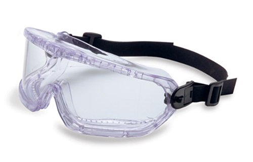 Honeywell 11250810 V-Maxx Goggle, Indirect Vent, Neoprene Headband, Clear Body, Clear Polycarbonate Lens (Pack of 10)