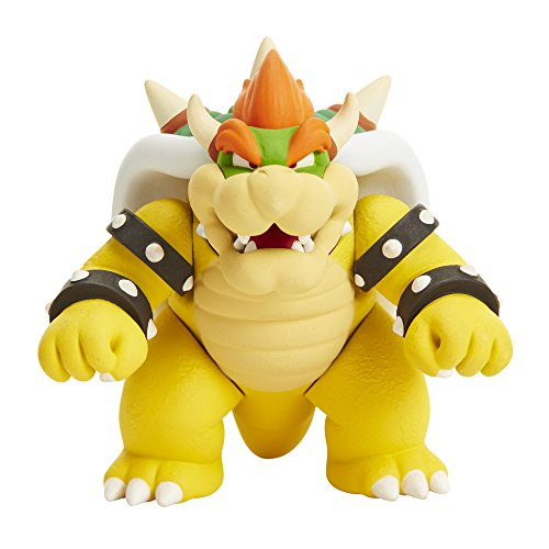 Nintendo 58541 Super Mario Mushroom Kingdom Castle Playset, with Exclusive 2.5 Bowser Figure!