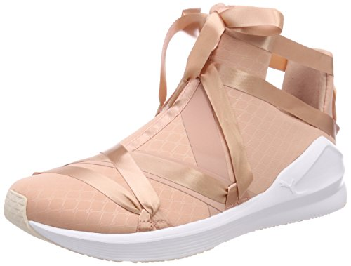 Rope Cross Trainers puma Ep Satin Puma Fierce pearl WN's Women's Peach Beige White YEBpp