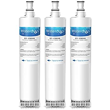 kenmore 469081. 3 pack waterdrop 4396508 replacement for whirlpool 4396508, 4396510, everydrop filter 5, edr5rxd1 kenmore 469081 t
