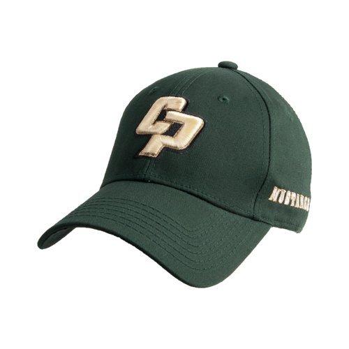 Cal Poly Dk Green Heavyweight Twill Pro Style Hat 'Interlocking CP'
