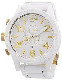 Nixon Women's 51-30 A0831035 White Stainless-Steel Quartz Watch