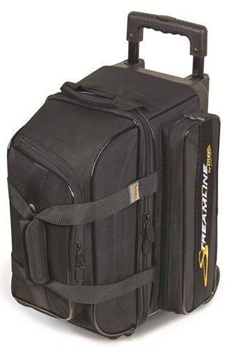 Black Streamline 2 Ball Roller Bowling Bag by Storm