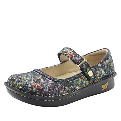 Alegria Belle Womens Mary Jane Shoe Veranda 6 M US (Women Janes Mary For Shoes)