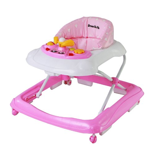 Dream On Me Scout Musical Walker and Activity Center, Pink