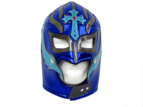 Leos Imports Mexican Luchador Lucha Libre Wrestling Mask (Pro-fit) - Royal Blue