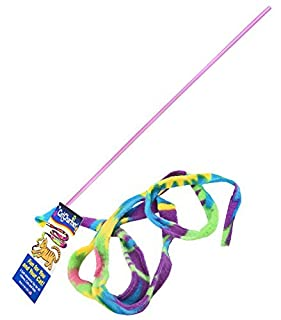 Cat Dancer Cat Toy Cat Charmer Safe Wand Teaser Colorful Fabric Ribbon Safe Flexible Exercise Toy 1 Pack (B0002DHV16) | Amazon price tracker / tracking, Amazon price history charts, Amazon price watches, Amazon price drop alerts