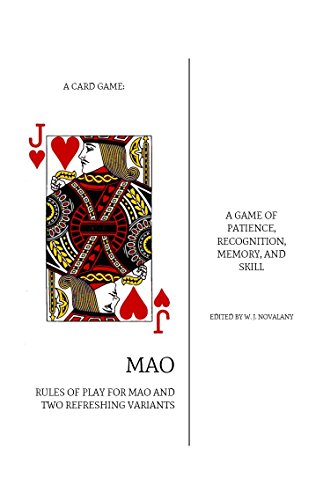 mao card game - 1