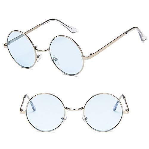 Amazon.com: Chic-Net Gafas de sol unisex redondas hippie ...