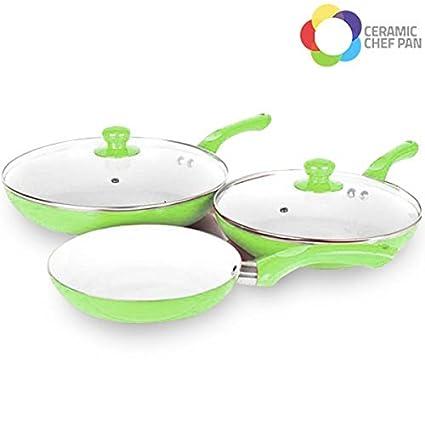 Sartenes Ceramic Chef Pan – 5 piezas ...
