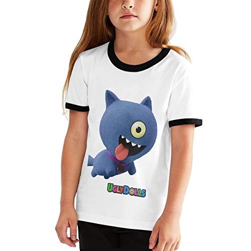 Uglydolls Shirt Youth Shirt Casual Short Sleeve T-Shirt for Girl (XL) Black