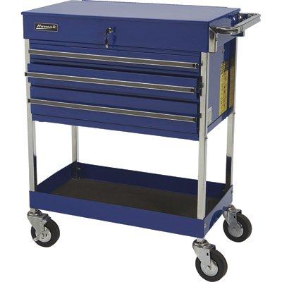 Homak 34-Inch Professional 3 Drawer Service Cart, Black, BK05500200 by Homak Mfg. Co., Inc.