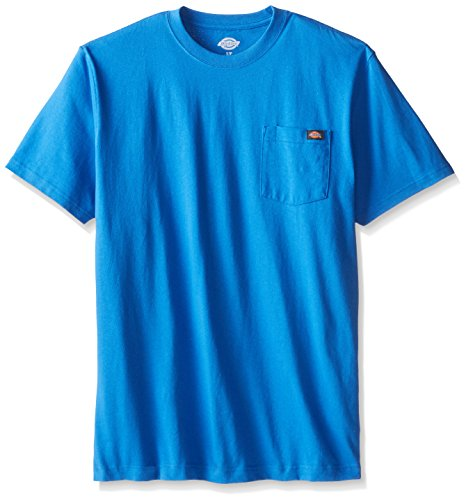 Dickie's Men's Heavyweight Crew Neck Short Sleeve Tee Big-tall,Royal Blue,X-Large Tall ()