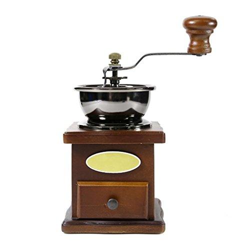 GOUGOU Hand coffee grinder Solid wood hand coffee machine Home grinder coffee machine by YANQI