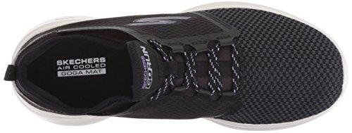 Go Run Skechers15102 Negro Mujer Fast Black Invigorate Lavender d55wOxqr