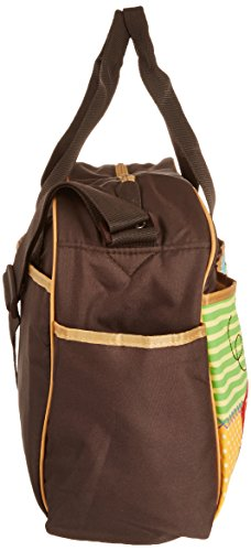 free shipping fisher price luv u zoo diaper bag brown. Black Bedroom Furniture Sets. Home Design Ideas