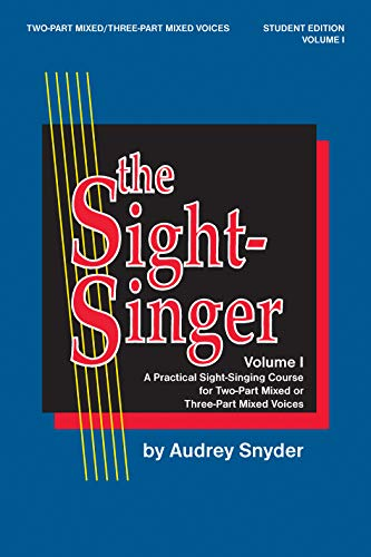 The Sight Singer, Vol. 1, Student Edition
