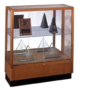 Counter Display Case, Cordovan