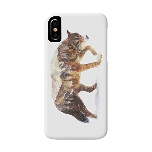 DEYING Phone Case Wolf In The Arctic Art Pattern Protector Cover for Galaxy S5 Arctic Gray Wolf