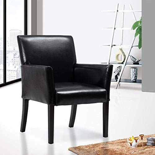 Modern PU Leather Executive Arm Chair Sofa Home Garden House Furniture Sofas Armchair Chairs, Recliners & Sleeper Chairs, Bench, Seat, Settee, Divan, Easychair, Davenport, Household, Furnishings from Lek Store