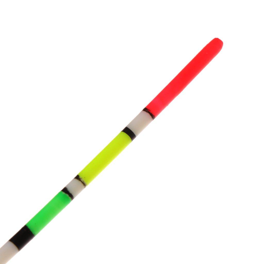 lpyfgtp 5 Piezas//Set de Pesca Flotador Noche Luminoso Duro Cola Buoy Bobber Stick Madera Tackle
