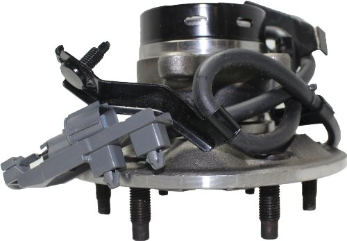 2WD Brand New Front Right Wheel Hub and Bearing Assembly Chevy & GMC Canyon Colorado 2WD 6 Lug W/ ABS