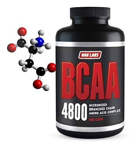 Cheap NAR LABS BCAA 4800, 240 Capsules