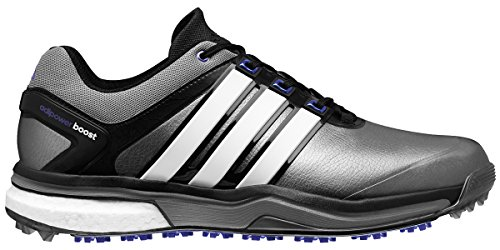 adidas Men's Adipower Boost-M, Dark Silver Metallic/Running White/Night Flash, 10 M US