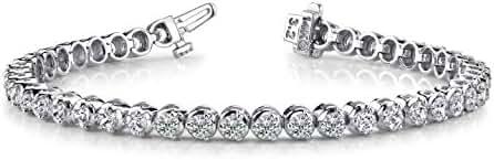 2-20 Carat Classic 3 Prong Diamond Tennis Bracelet Ultra Premium Collection (H/I Color)