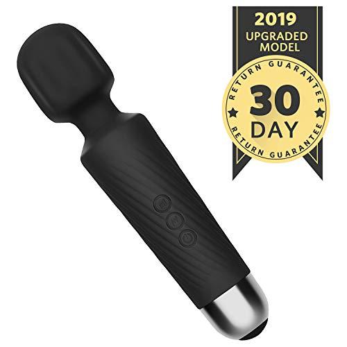 FILLBOSS Compact Powerful Cordless Handheld Massager Wand, Wireless Personal Mini Waterproof Wand Massager for Woman, USB Rechargeable