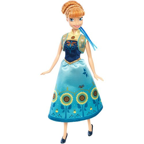 Disney Frozen Fever Birthday Party Anna Doll